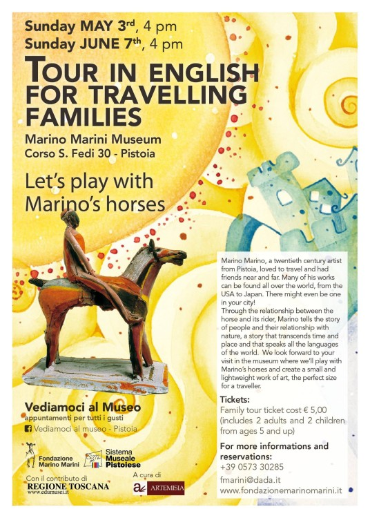 Flyer for Museo Marini