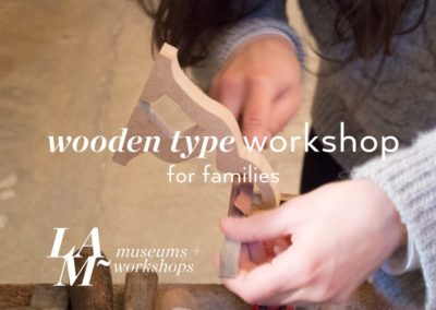 Wooden Type Workshop