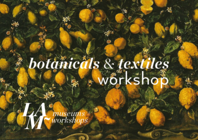 Botanicals & textile Workshop